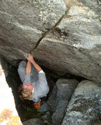 Rock Climbing Photo: So...its sharp