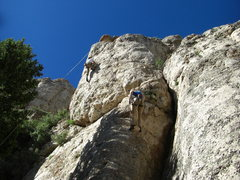 Rock Climbing Photo: Winchester Pump on the left, Red Rider on the righ...
