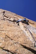 Rock Climbing Photo: Paul Glover on the Pervertical crux.