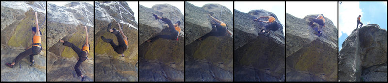 Rock Climbing Photo: sequence beta