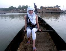 Rock Climbing Photo: I'm a Tuareg....on the Bani River