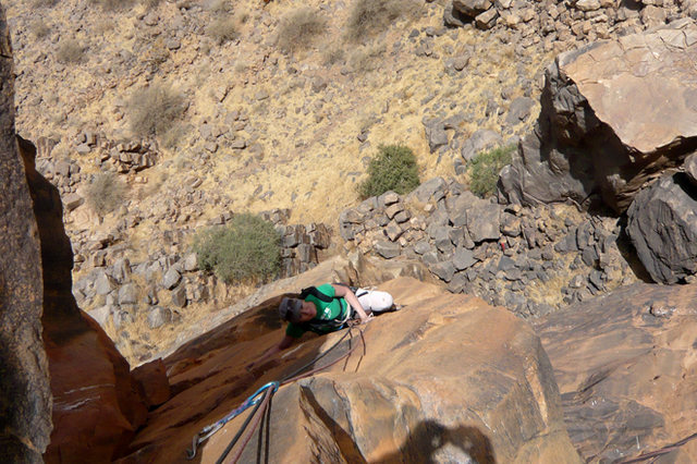 Rock Climbing Photo: climbing..