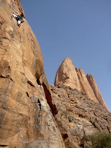 Rock Climbing Photo: in Mali