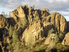 Rock Climbing Photo: More great views. Just pick a pinnacle and climb i...