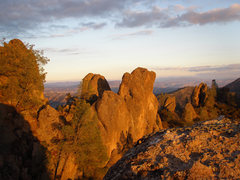 Rock Climbing Photo: Looking west from the top of the High Peaks...