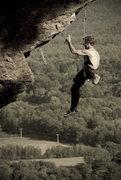 Rock Climbing Photo: A not so uncommon sight on Predator