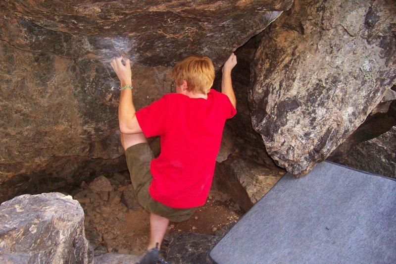 Rock Climbing Photo: Revenge.