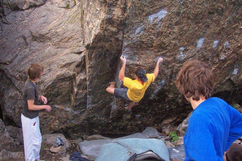Rock Climbing Photo: Bush.