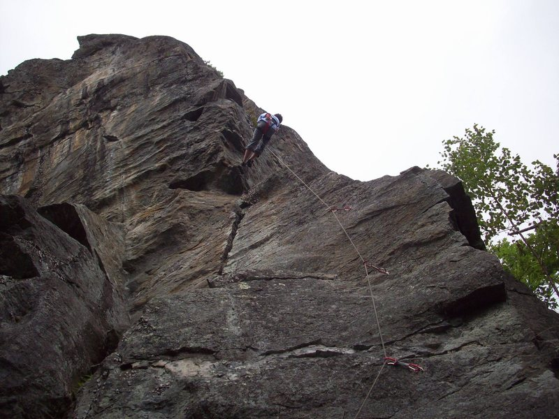 Rock Climbing Photo: Me rapping off