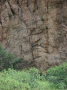 Rock Climbing Photo: Interesting crack on the rock just before Trad Roc...