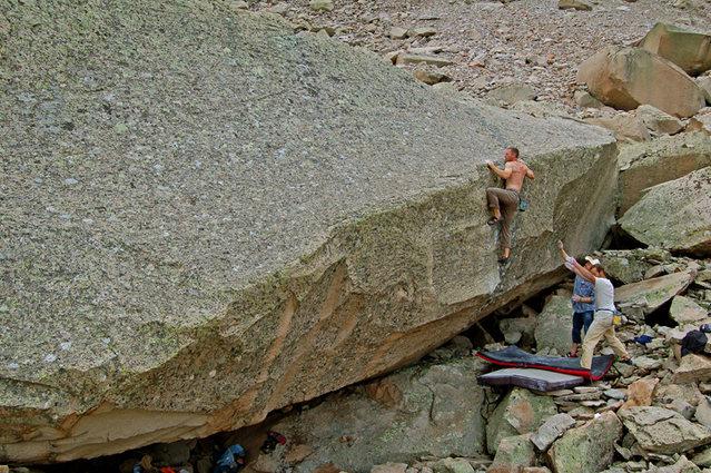 Rock Climbing Photo: Mean Joe Green