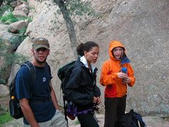 Rock Climbing Photo: Rained out at Trad Rock!