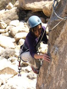 Rock Climbing Photo: My wife Thy, did I mention that her middle name is...