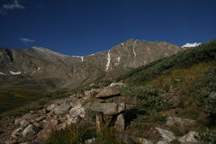 Rock Climbing Photo: Gray's and Torreys from the valley