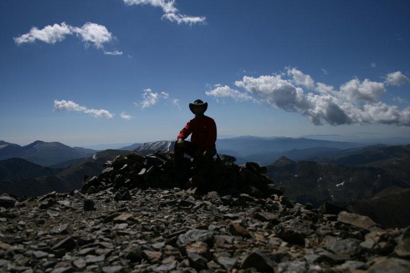 Rock Climbing Photo: Summit Gray's Peak 14,270 ft