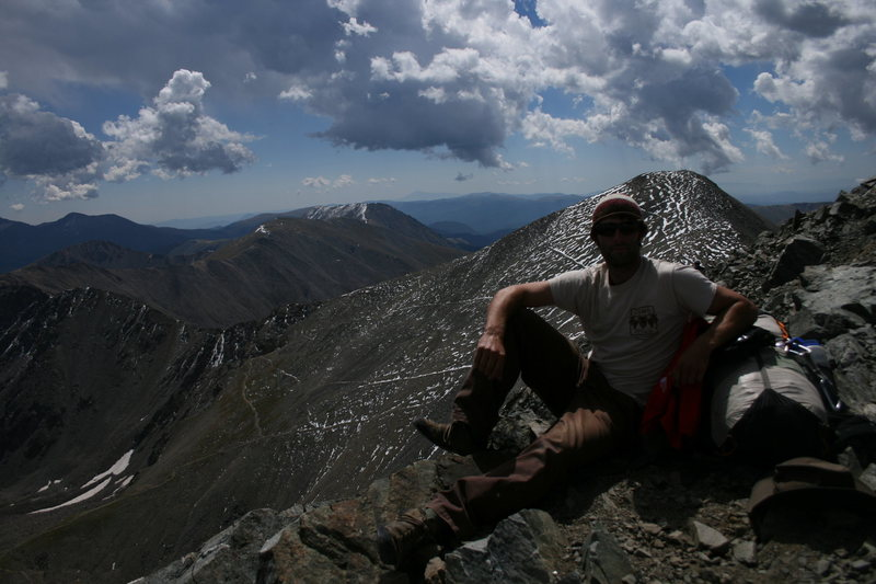 Rock Climbing Photo: Summit Torrey's Peak 14,267