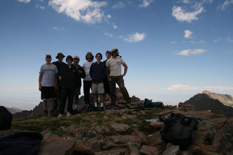 Rock Climbing Photo: Summit Humboldt Peak 14,064