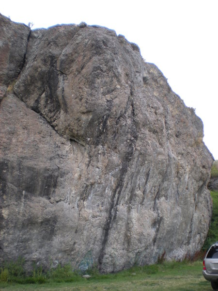 Rock Climbing Photo: Another view of the NE wall.