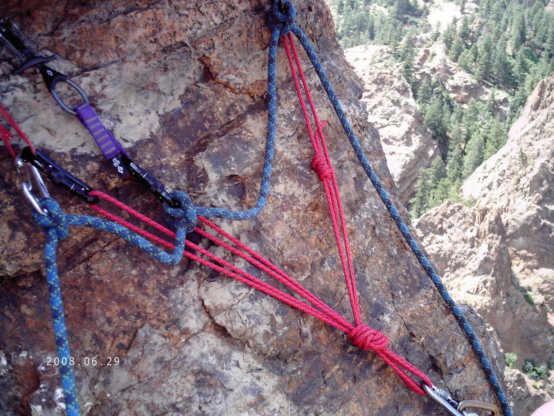 Rock Climbing Photo: Sweet Anchor
