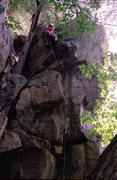 Rock Climbing Photo: Henning Boldt flashing Mung. September '08.