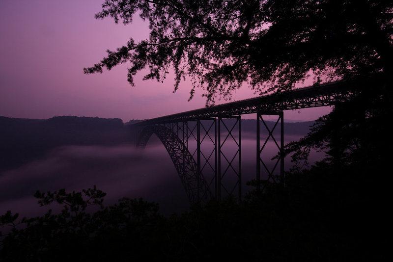 The bridge. Photo by Carter Shumaker