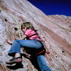 Maya girl topropin' on Kindergarten Rock.