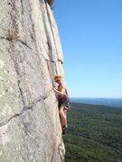 Rock Climbing Photo: Wonderwoman on CCK