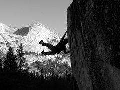 Rock Climbing Photo: Bouldring near Tenaya lake