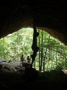 Rock Climbing Photo: Awesome cave pic #2
