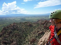 Rock Climbing Photo: View off of Sheepshead from a belay station on Ewe...