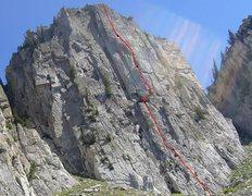 Rock Climbing Photo: Giggles Topo.