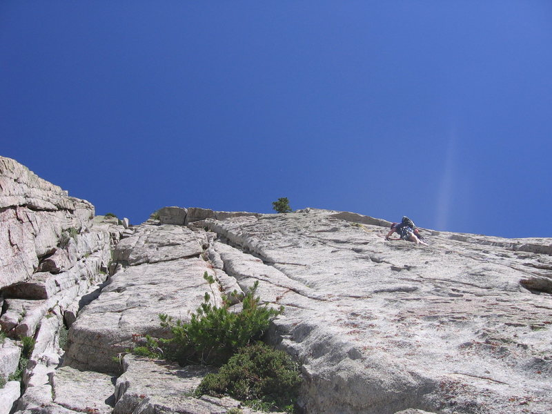 Looking up Pitch 3