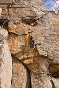 Rock Climbing Photo: Bryan clippin' and not trippin', T-Wall, Winter 20...