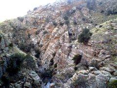 Rock Climbing Photo: jailhouse, mt. lemmon AZ