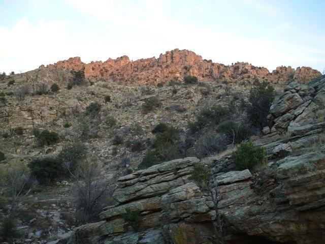 boot hill, mt. lemmon AZ