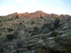 Rock Climbing Photo: boot hill, mt. lemmon AZ