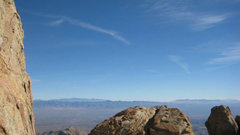 Rock Climbing Photo: view from the top, ridgeline, mt. lemmon AZ