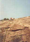 Rock Climbing Photo: first or second ascent.  I can't tell if that is m...