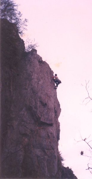 Sean Cobourn on early ascent of T-Rox