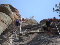 Rock Climbing Photo: Mel and me