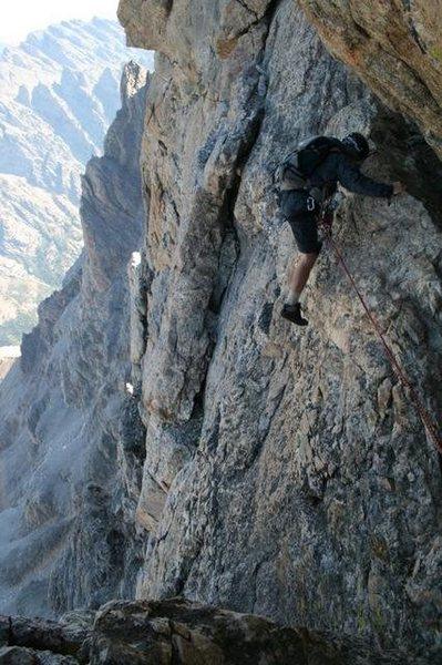 Rock Climbing Photo: Start of Owen Spalding technical
