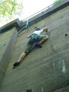 Rock Climbing Photo: Left side of crimpy face wall...