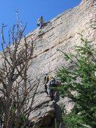 Rock Climbing Photo: Tom and Alan.
