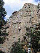 Rock Climbing Photo: Middle Toe.