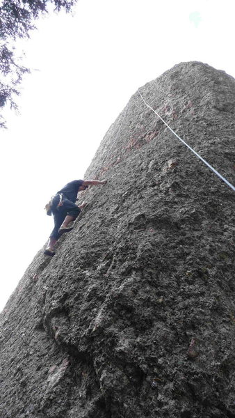 Rock Climbing Photo: Photo showing the lower portion of Table Wine.