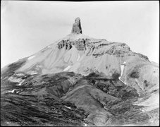 """Rock Climbing Photo: Ca. 1910 image of """"Lizzard Head"""" by LC M..."""