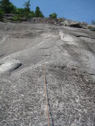 Rock Climbing Photo: A look at the fourth(?) pitch...