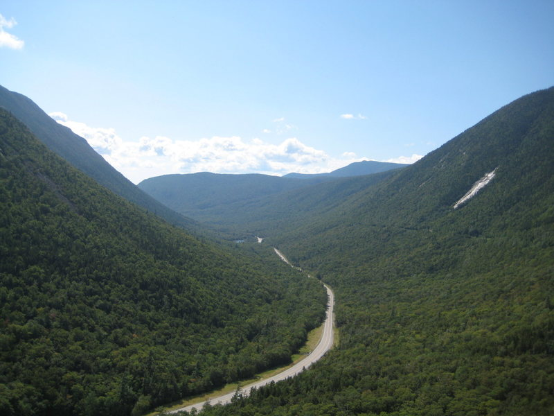 A view into the valley from Mt. Willard.