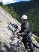 Rock Climbing Photo: Just before the Milky Way pitch