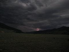 Rock Climbing Photo: Storm near Creede, CO